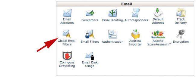 Blokir Email