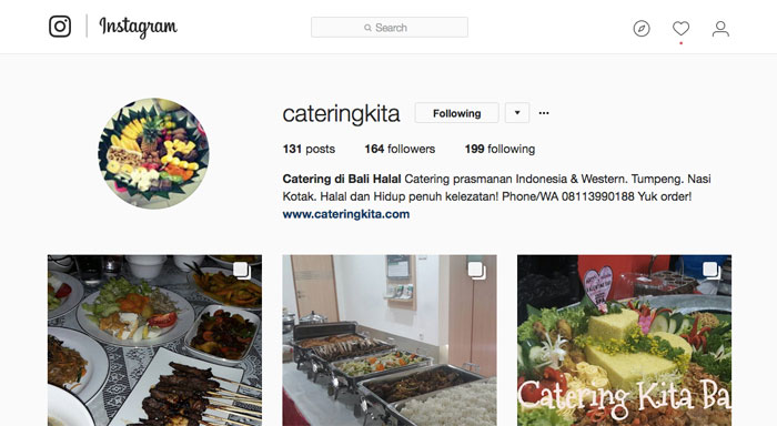 IG catering