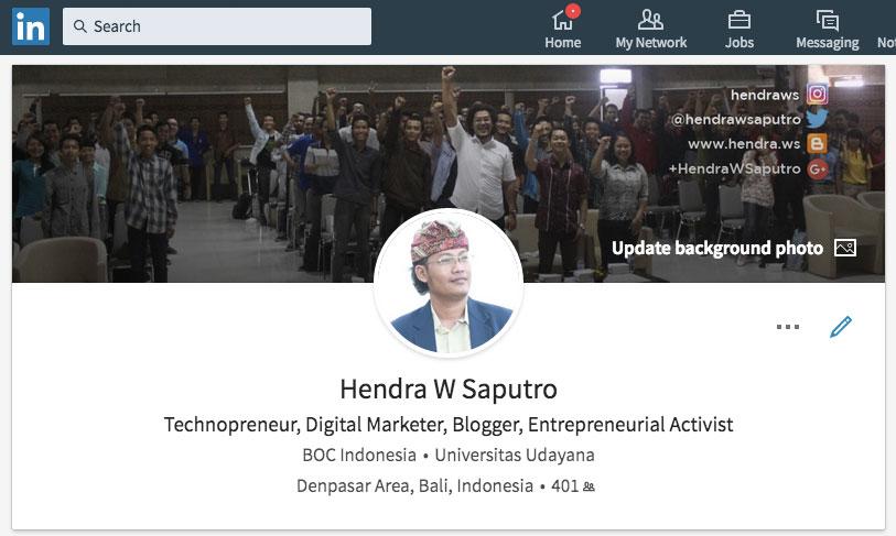 LinkedIn Hendra