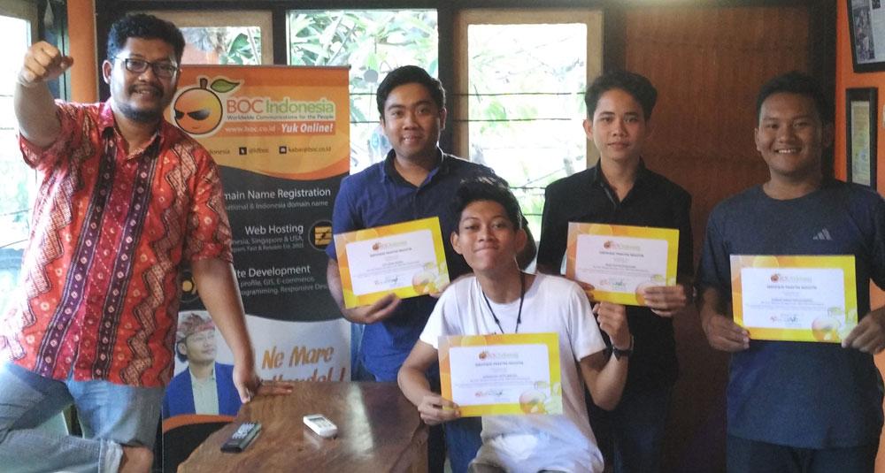 Siswa SMK TI Bali Global