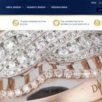 Website Athena Jewellery di athenajewellerybali.com