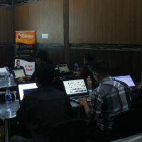 Tampak Hendra di Pelatihan workshop digital internet marketing