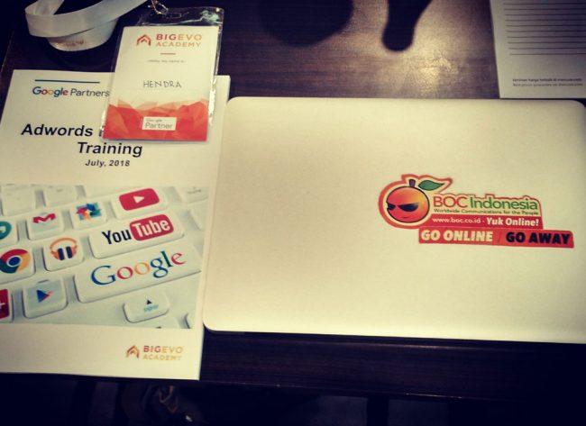 BOC di workshop google adwords