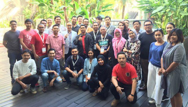 Foto bersama workshop google adwords