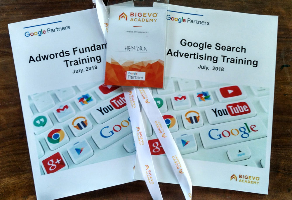 Materi pada workshop google adwords
