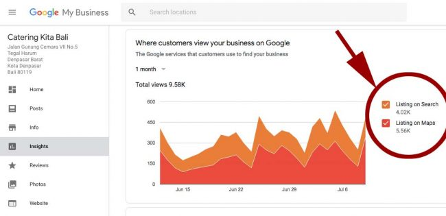 Analitik Google Bisnisku