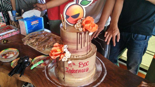 15 Tahun BOC Indonesia
