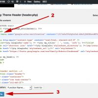 Verifikasi HTML dengan Wordpress