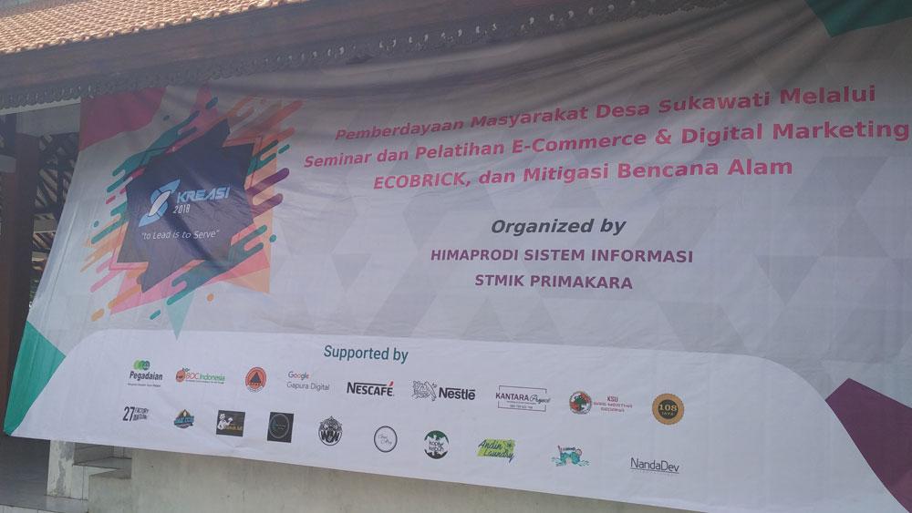 Seminar Pelatihan E-commerce dan Digital Marketing di Sukawati - Bali