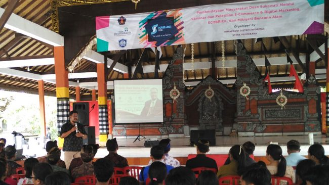 Seminar Pelatihan E-commerce dan Digital Marketing di Sukawati - Bali