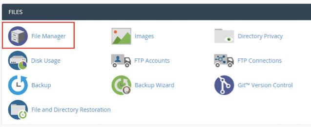 File Manager untuk redirect http ke https