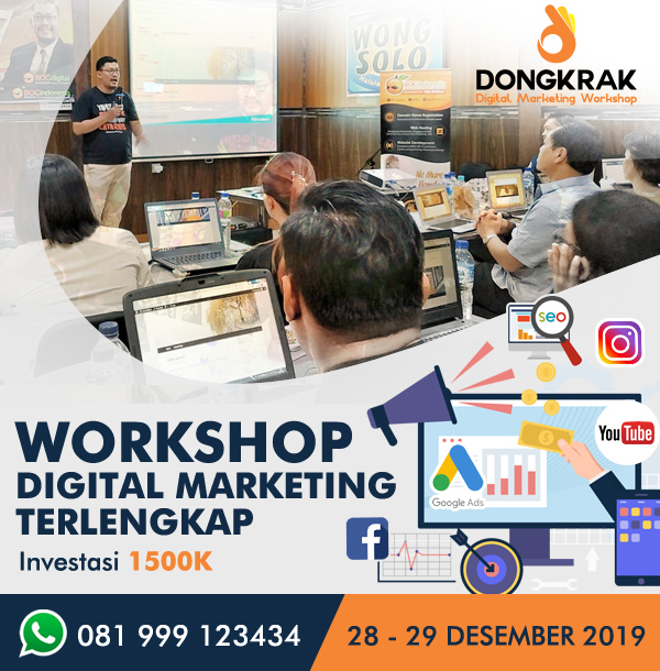 Workshop Digital Marketing 2019
