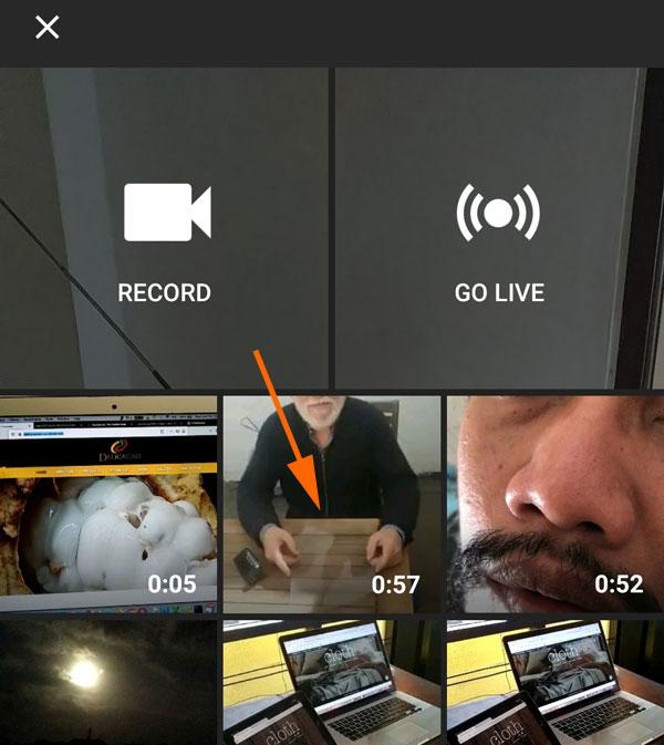 Pilih Video yang akan diupload ke youtube