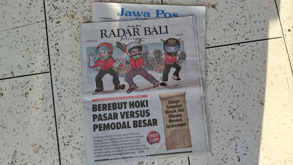 Radar Bali Ojek Online Bali