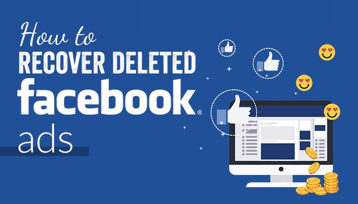 Cara kembalikan fb ads terhapus